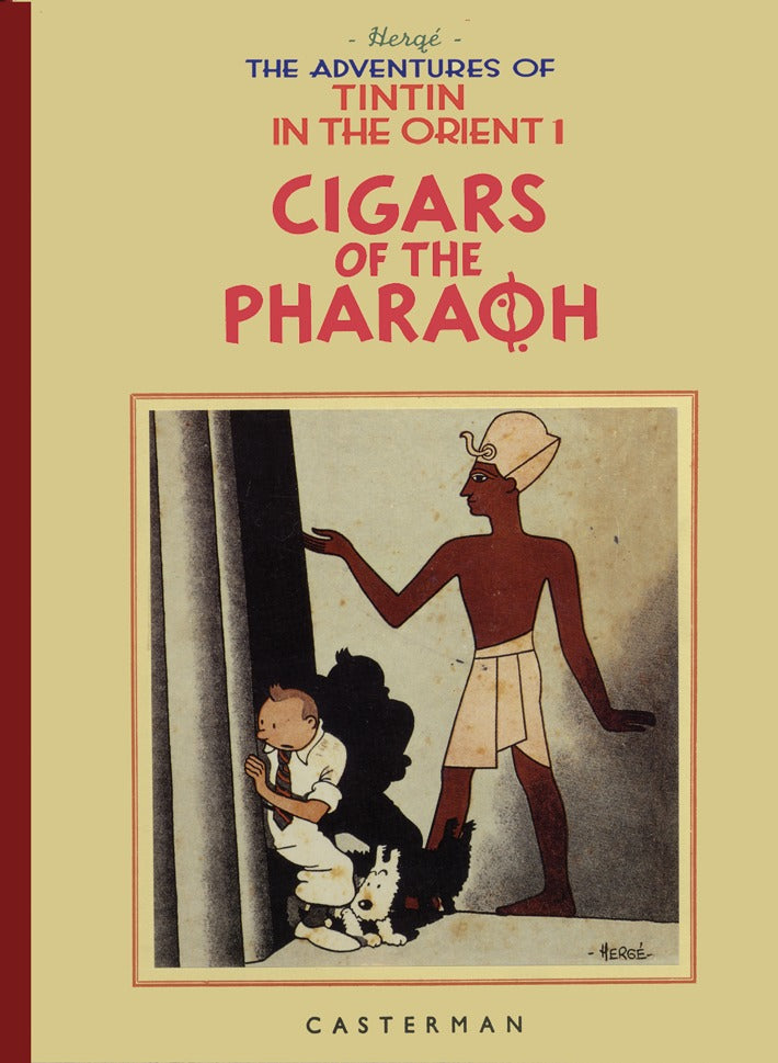 Adventures Of Tintin In The Orient V1: Cigars Of The Pharaoh