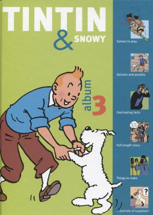 Tintin & Snowy Album Vol. 3
