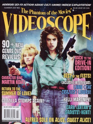 Videoscope Magazine #63: Back To The Drive-In Issue (Summer 2007)