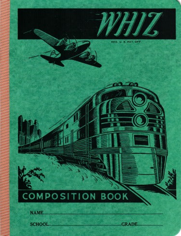 Train Vintage Note Book