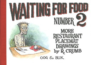 Waiting For Food 2: More Restaurant Placemat Drawings