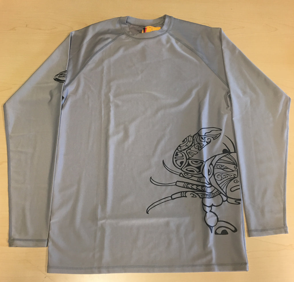 L/S Crab Grey - SALE 50% OFF