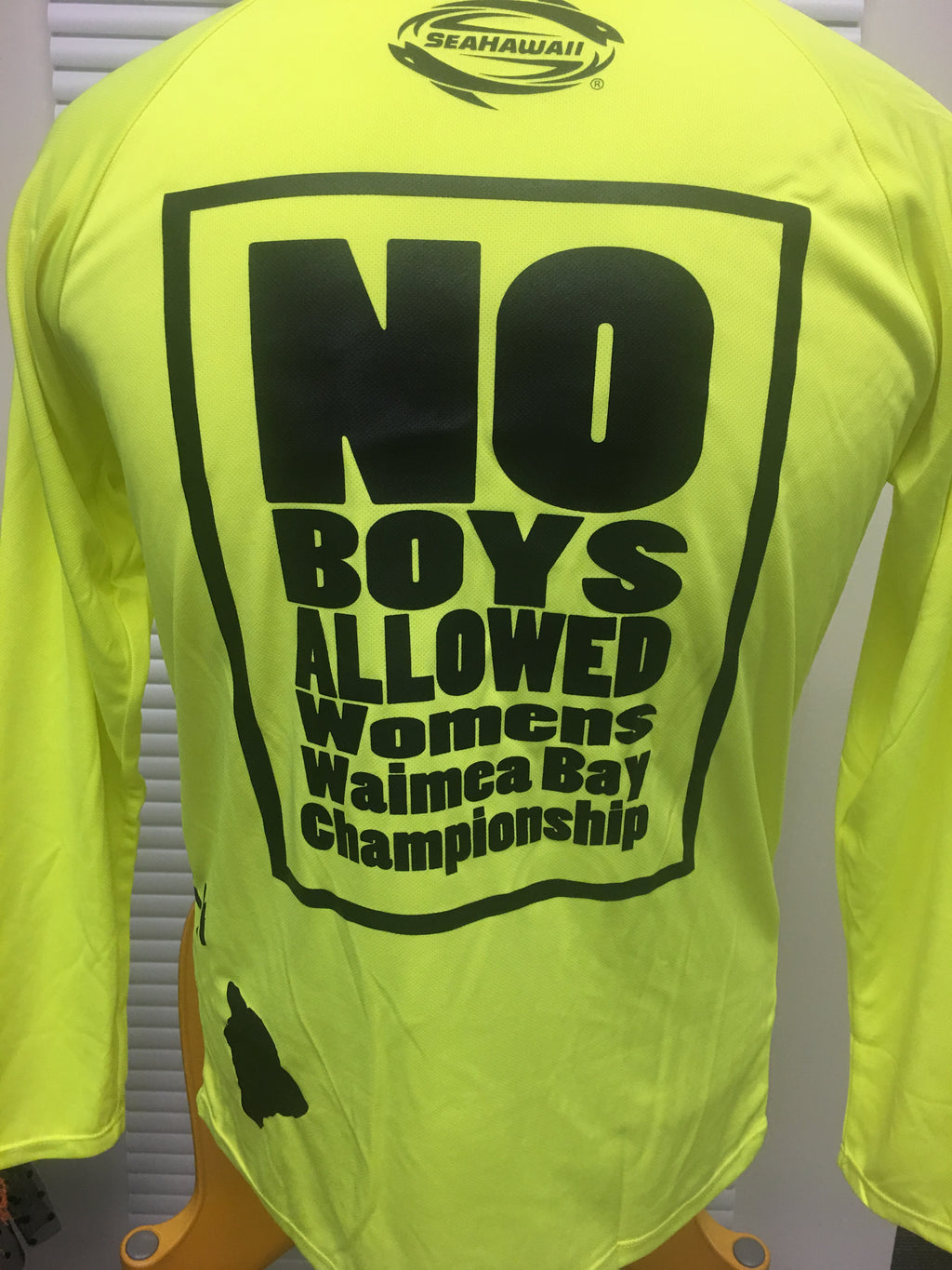 L/S Windskin: Islands - Neon - NO BOYS ALLOWED - 50% OFF