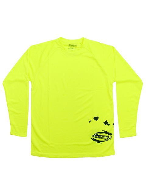 L/S Windskin: Islands - Neon SALE