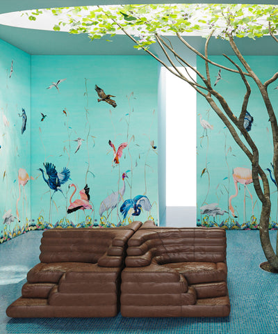 Birds Scenic Wallpapered Nirvana