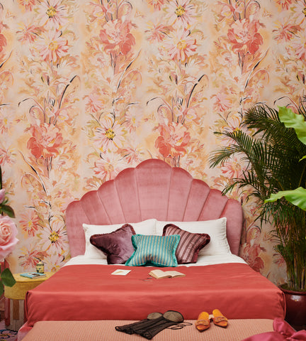 Diana Wallpapered Boudoir (Customized for Ted Milano x Artemest) Milan Design Week 2019