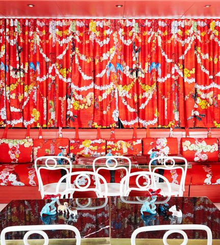 Mimi Chinoiserie Mess Hall
