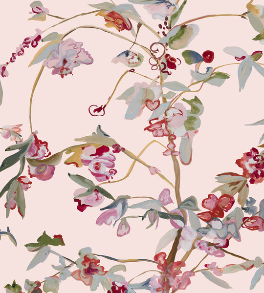 Guinevere Chinoiserie Wallpaper Voutsa