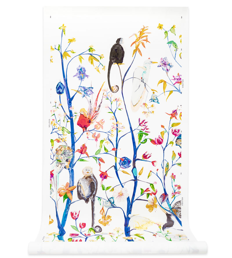Menagerie Chinoiserie Wallpaper