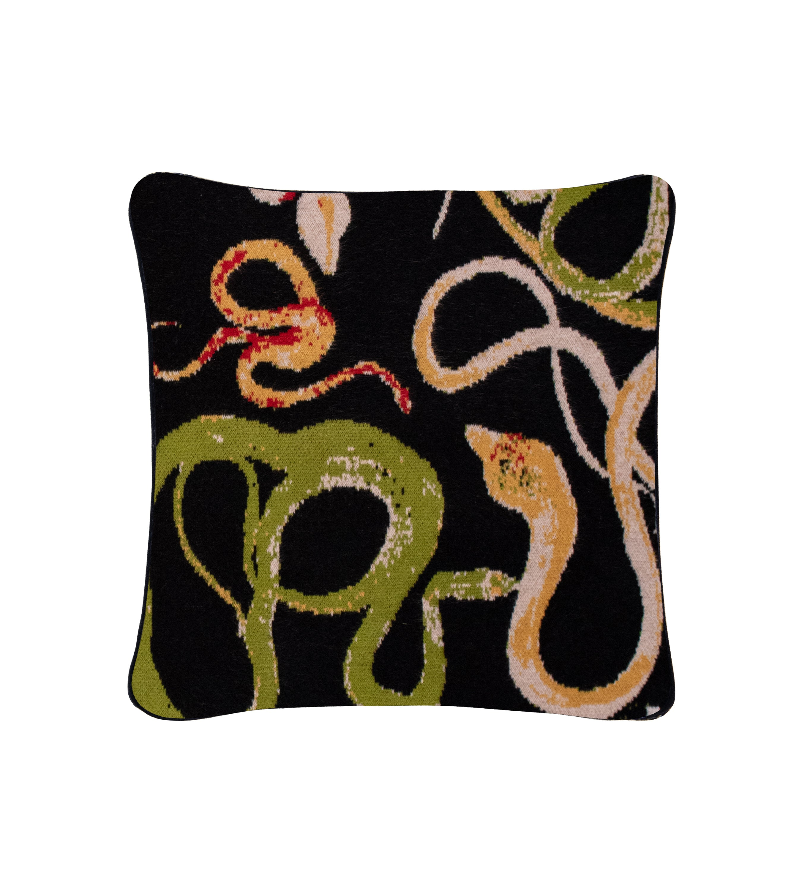 Voutsa x Saved NY Snakes Cashmere Pillow