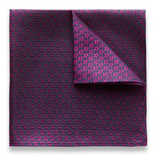Kingsquare 100% Silk Pocket Square Floral Jacquard with Gift Box