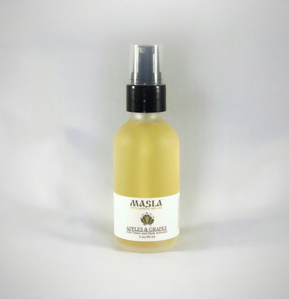 """Apples & Grapes"" AHA Toner and Mask Activator - MASLA Skincare"