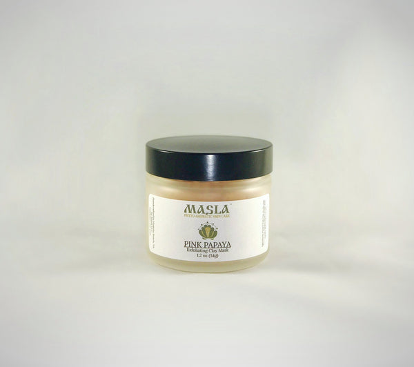 """Pink Papaya"" Exfoliating Clay Mask - MASLA Skincare"