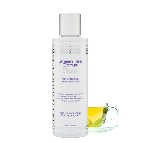 Green Tea Citrus Cleanser with Grapefruit, Lemon and Yucca - MASLA Skincare