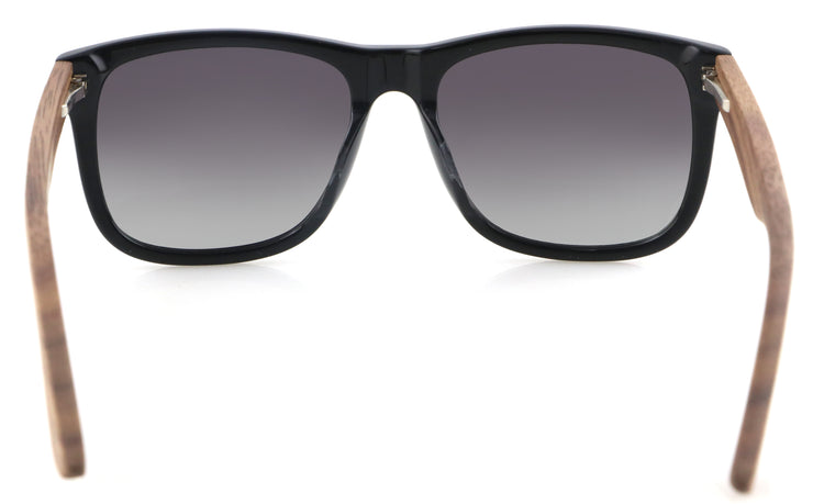 New IRON BLACK 2.0, gafas de sol de madera polarizadas UV400