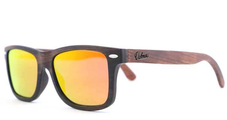 PURE ORANGE, gafas de sol de madera polarizadas UV400