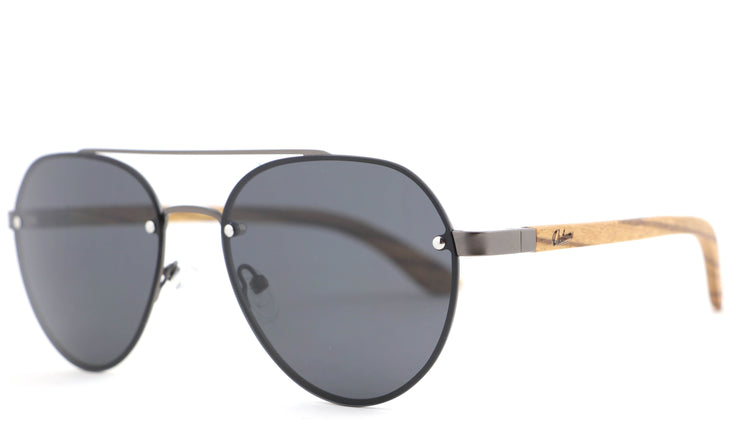 FLIGHT BLACK, gafas de sol de madera polarizadas UV400