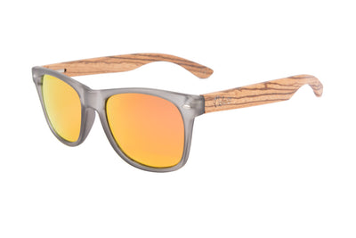 IRON ORANGE, gafas de sol de madera polarizadas UV400
