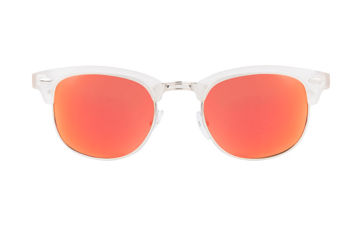 LEADER ORANGE, gafas de sol de madera polarizadas UV400