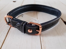 Load image into Gallery viewer, The Grand Prix Collection Special: Patent Leather Collar with Fancy Stitch