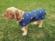 Load image into Gallery viewer, Limited Edition Fleece Lined Eco Canvas Dog Coat