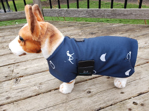 Limited Edition Fleece Lined Eco Canvas Dog Coat