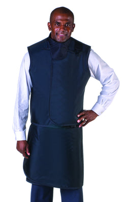 Men's Apron and Vest: Lead Free with Thyroid Collar