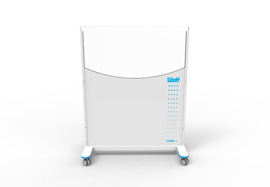 Nuclear Medicine Mobile Barrier Clear-Pb