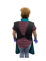 Coat Apron: Light Weight Lead with Thyroid Collar