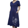 Apollo Blueprint Dress with Pockets