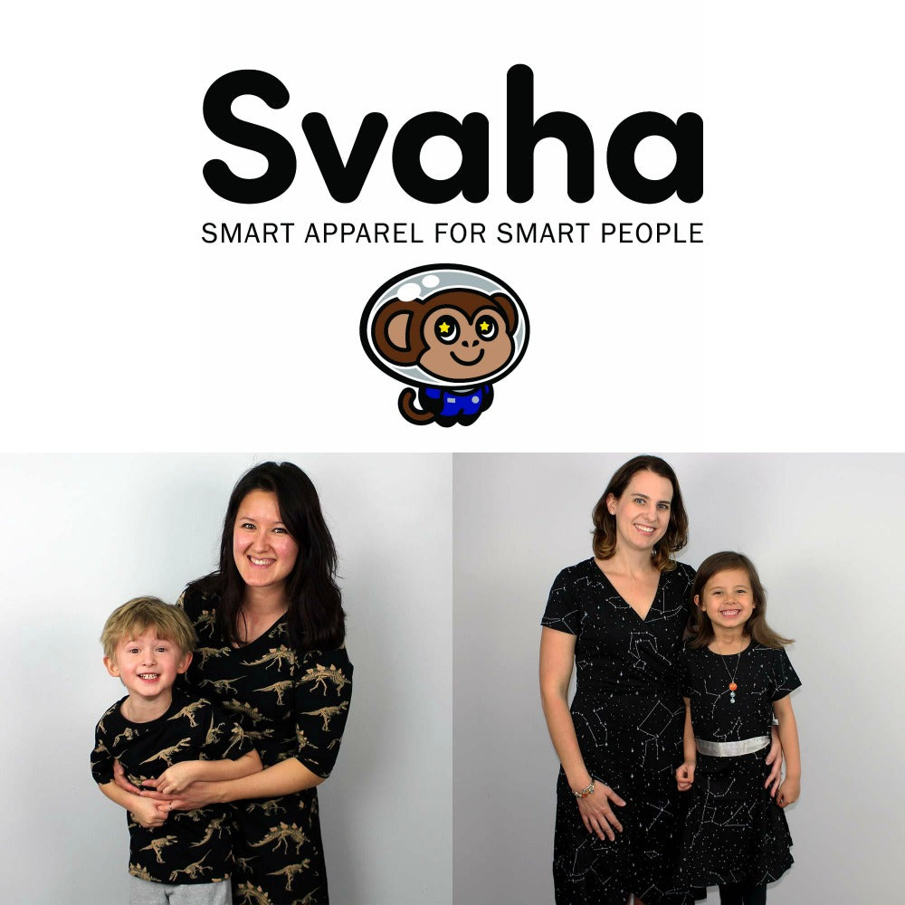 42ed0fc84210 Svaha STEAM-themed Apparel with Pockets and Geeky Accessories