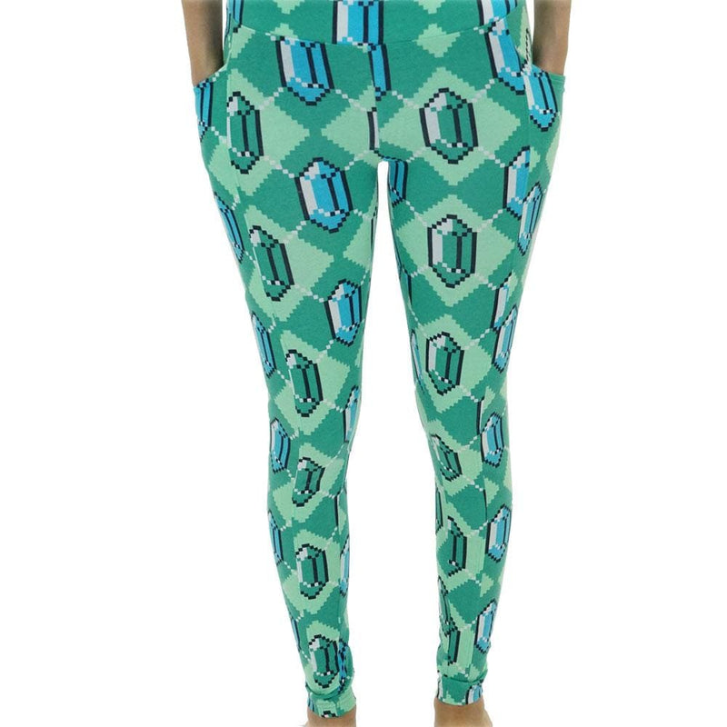 8-bit Argyle Adults Leggings