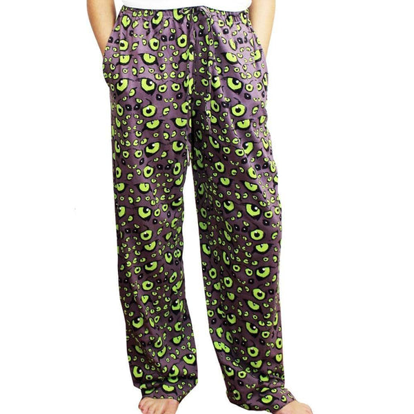 Nocturnal Animal Eyes Adult Lounge Pants