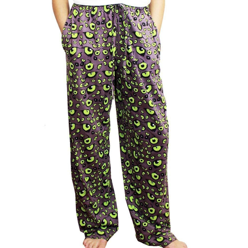 Nocturnal Animal Eyes Adult Lounge Pants [FINAL SALE]