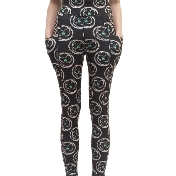 Apollo-Soyuz Mission Adults Leggings with Pockets