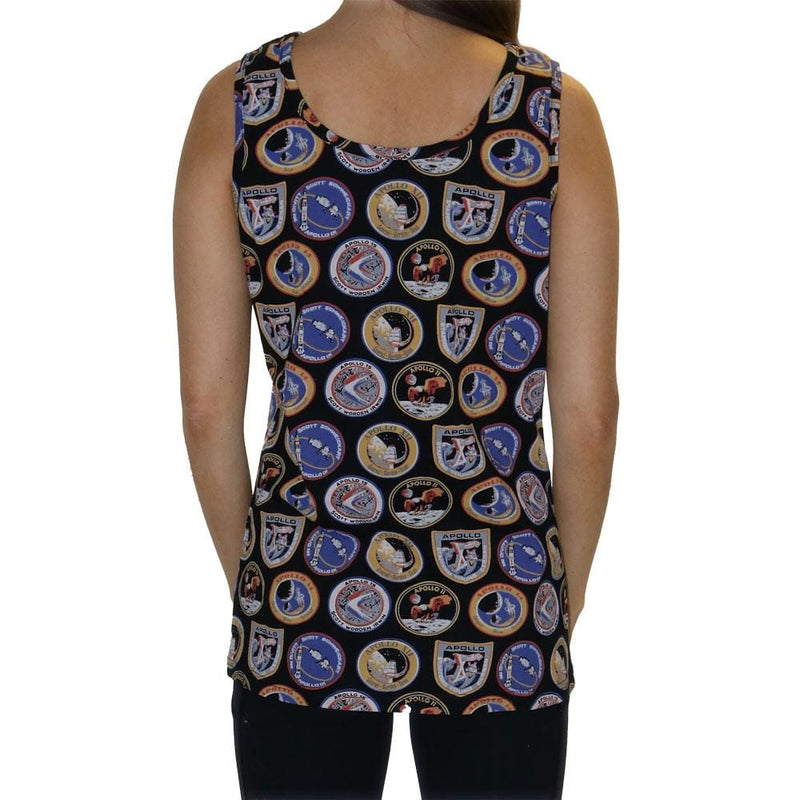 Apollo Missions Patches Tank Top