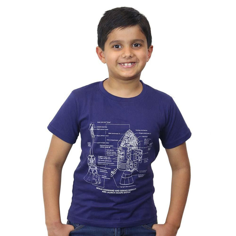 Apollo Blueprint Kids T-Shirt - Svaha USA