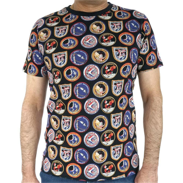 Apollo Missions Patches Unisex Tshirt (Pre-Order)
