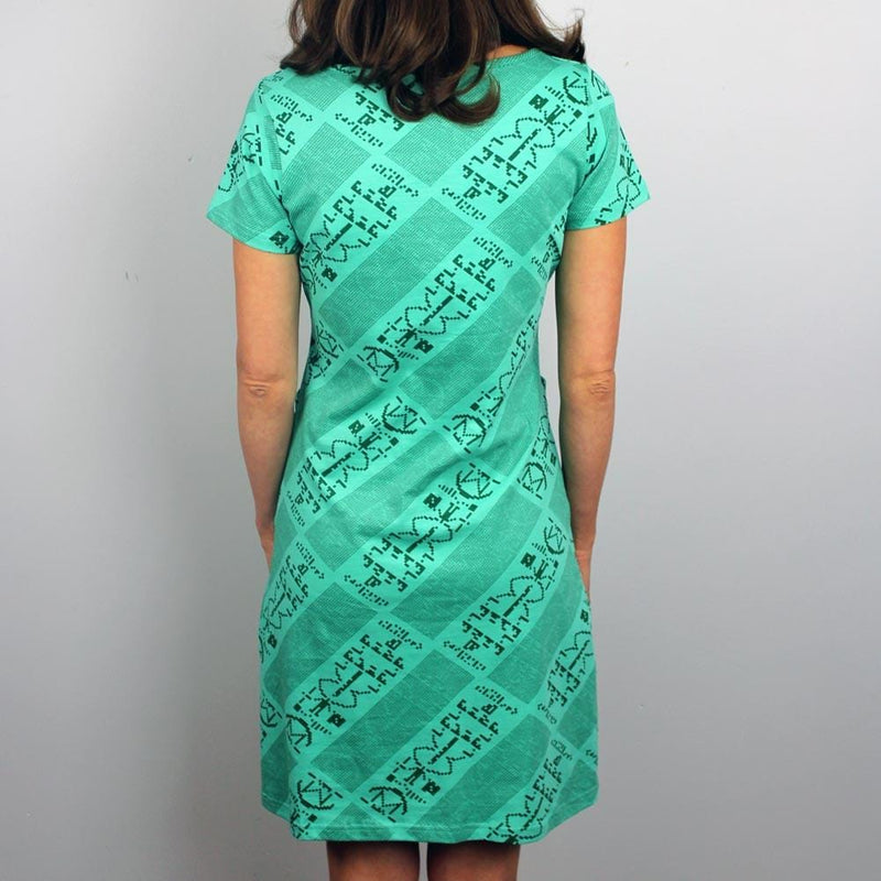 Arecibo Message Sheath Dress - Svaha USA