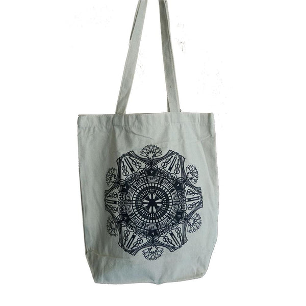 Art Mandala Tote Bag