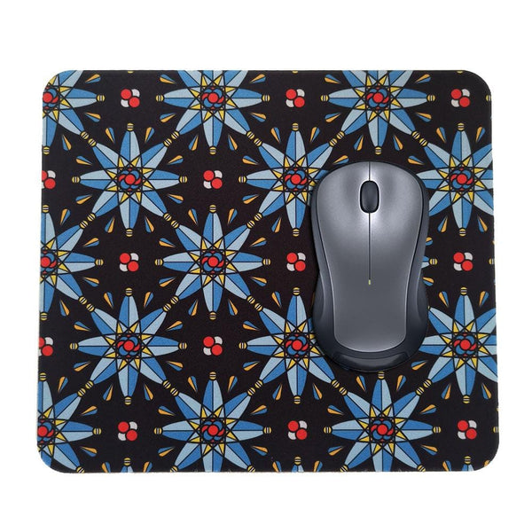 Atomic Stained Glass Mouse Pad