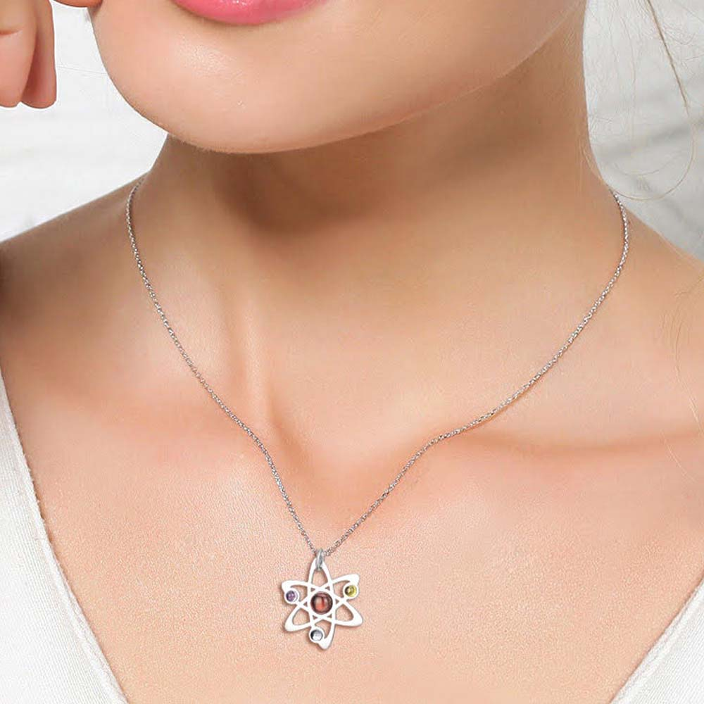 Stainless Steel Moon Phase Necklace Svaha Apparel