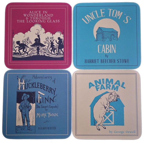 4-Pack Banned Books Coasters