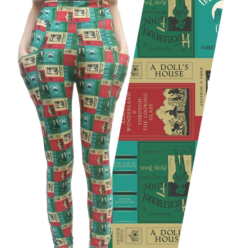Banned Books Adults Leggings with Pockets