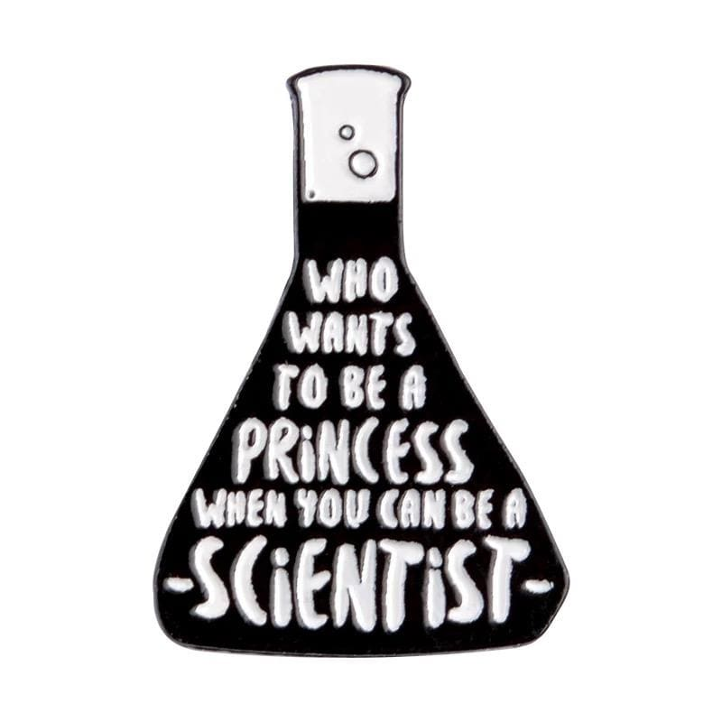 Be A Scientist Enamel Pin