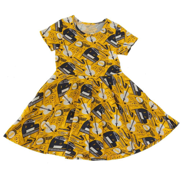 (Pre-order) Bebop Jazz Kids Twirl Dress