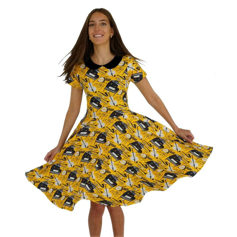 Bebop Jazz Parks Dress