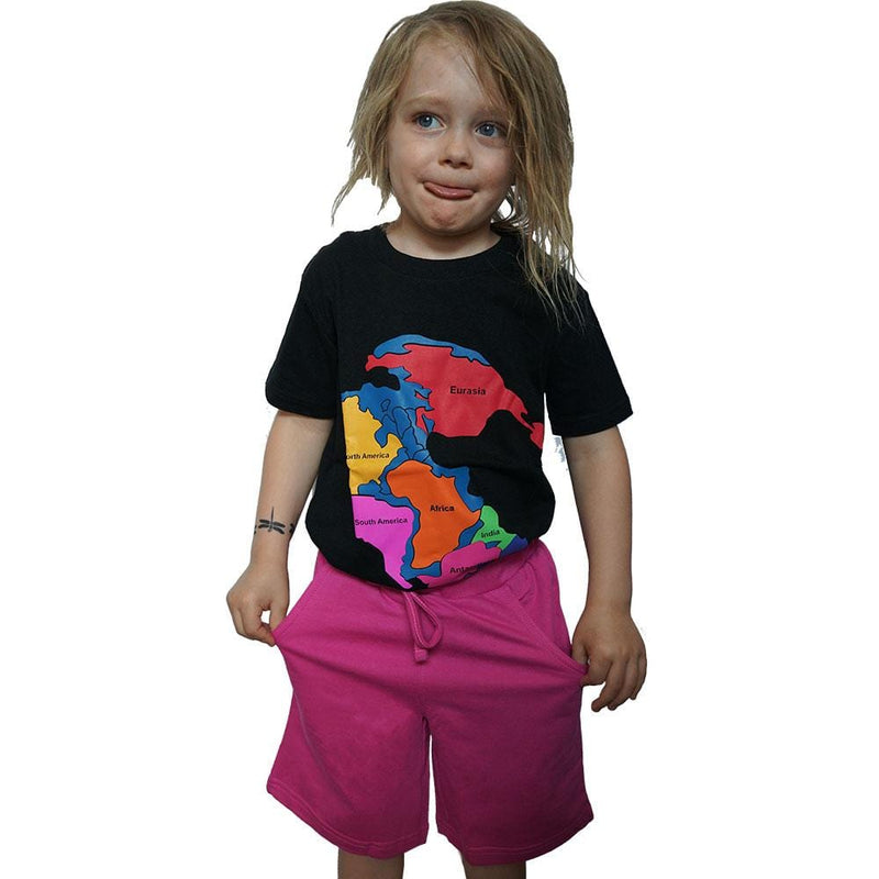Kids Back to School Pink Knee Shorts with Pockets - Svaha USA
