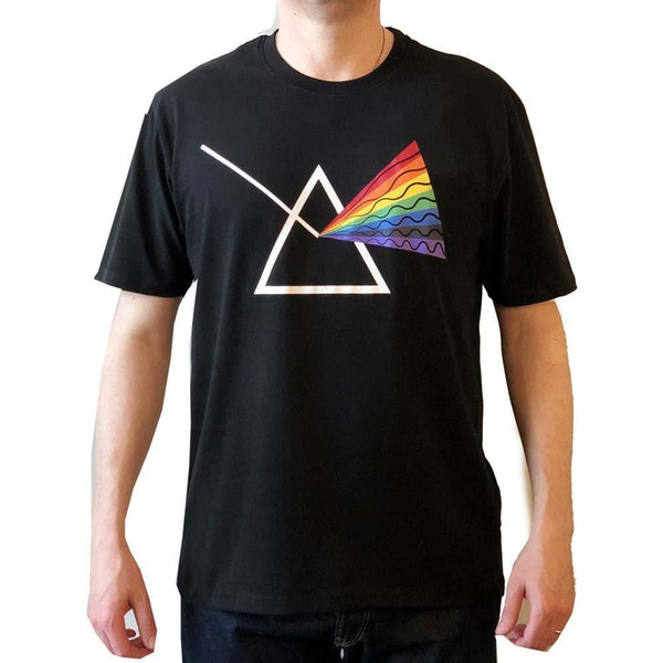 Rainbow Mens Shirt, Prism Mens Shirt, Physics Mens Shirt, Science Mens Shirt, STEM Mens Shirt, Science Shirt, White Light Shirt, Science Shirt, Sunlight Shirt, Prism Refraction Unisex Adult T-Shirt - SVAHA USA