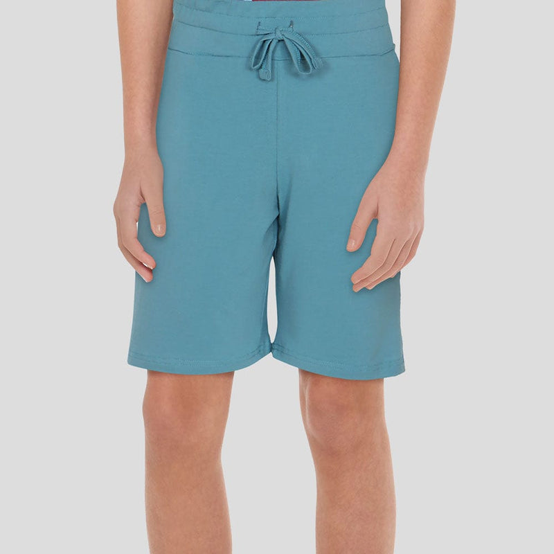 (Pre-order) Light Blue Kids Shorts with Pockets